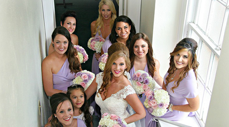 Bride and the Girls